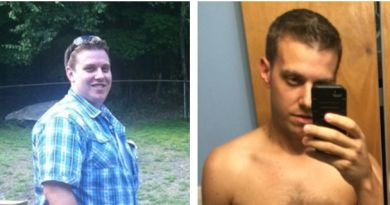 William has lost 107 pounds