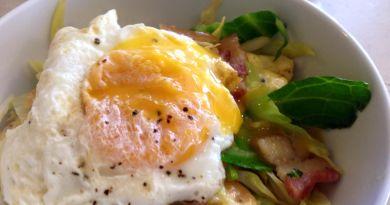 Cabbage Bacon Stir Fry