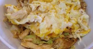 Korean Chicken Cabbage