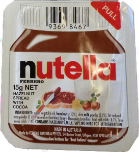 Snack Nutella