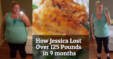 See how Jessica dropped over 125 pounds